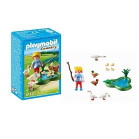 Playmobil Country -Menina com Patos e Gansos 4-10
