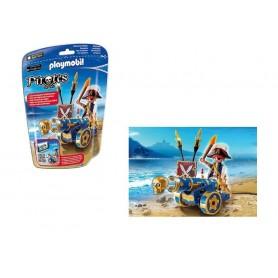 Playmobil Pirates - Saco com Canhão Interactivo Azul com Pirata 5-10