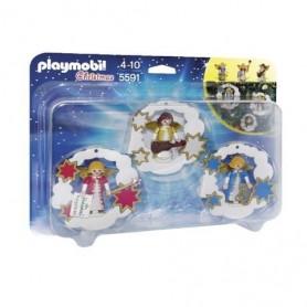 Playmobil Christmas  - Enfeites Anjos de Natal 4-10