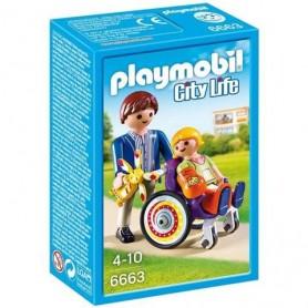 Palymobil City Life - Criança em Cadeira de Rodas 4-10