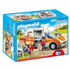 Playmobil City Life - Ambulância com Luzes e Som 4-10