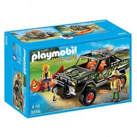 Playmobil Wild Life - Pick Up de Aventureiros 4-10