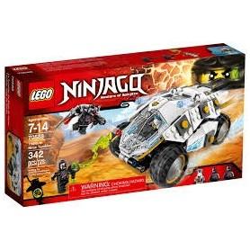 Lego Ninjago - Carro Blindado dos Ninjas 7-14