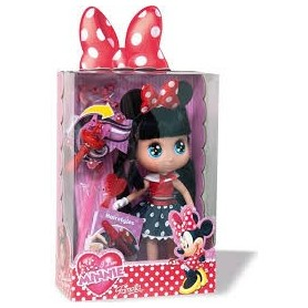 Boneca I love Minnie 30cm Famosa