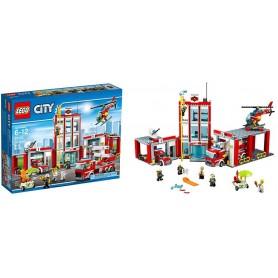 Lego City - Quartel dos Bombeiros 6-12