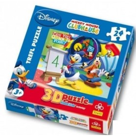 Puzzle 3D A Casa do Mickey Mouse 3+