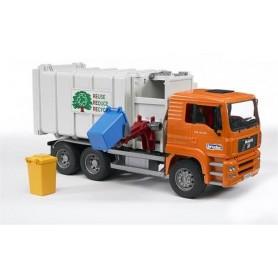 Camião do lixo Man TGA com carregador lateral - Bruder