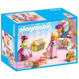 PLAYMOBIL - Quarto de vestir Real 4-10