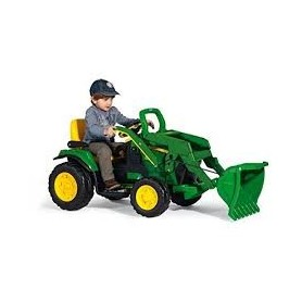 Tractor Jonh Deer Ground Loader 12V - Peg-Pérego
