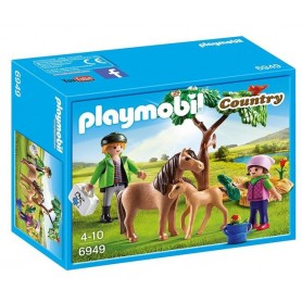 Playmobil Country - Veterinário com Ponéis 4-10