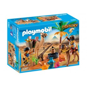 Playmobil History - Acampamento Egipcio 6-12