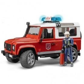 Land Rover Defender Station Wagon Veiculo de Bombeiros - Bruder