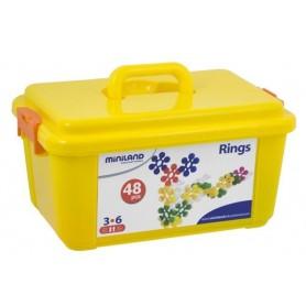 Insterstar Rings  48 peças - Miniland