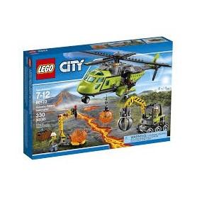 Lego City - Helicóptero de Abastecimento do Vulcão 7-12