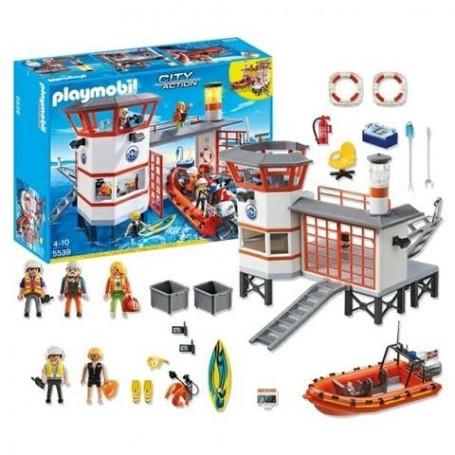 Playmobil City Action -Posto da Guarda Costeira com Farol