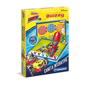 Caneta Interativa Quizzy: Minnie - Clementoni