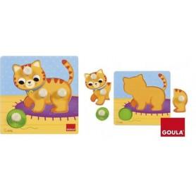 Puzzle Madeira Gato 1-2 - Goula