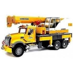 Camião MAN TGA de Construção com Carregadora Articulada Fr130 - Bruder