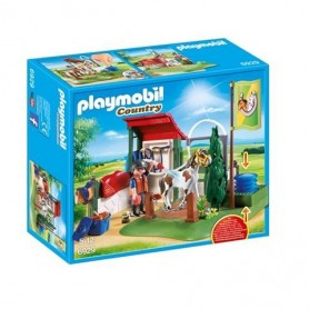 Playmobil Country - Set de Limpeza para Cavalos 4-10