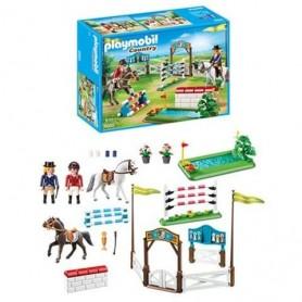 Playmobil Country - Prova de Saltos de Cavalo 4-10