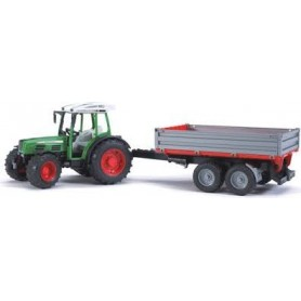 Tractor Fendt com Atrelado 209 S - Bruder