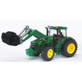 Tractor Jonh Deer 7930 com frontloader - Bruder