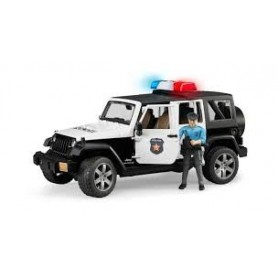 Jeep Wrangler Unlimited Rubicon Bombeiros - Bruder