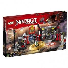 Lego Ninjago - Quartel General dos Herdeiros de Garmadon 8-14