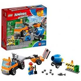 Lego Juniors: Camião de Reparação de Estradas 4-7