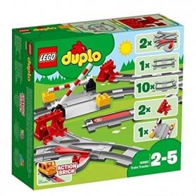 Lego Duplo: Carris / Trilhos para Comboio 2-5