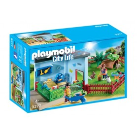 Playmobil City Life - Quarto das pequenas Mascotes 4+