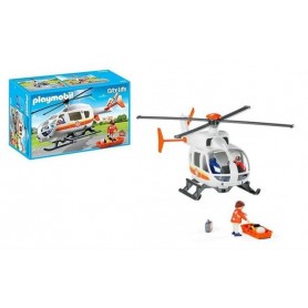 Playmobil City Life - Helicóptero de Emergência Médica  4-10