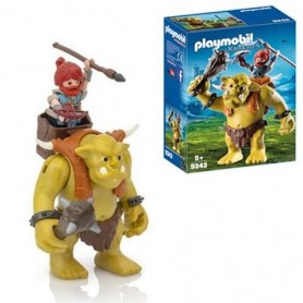 Playmobil Knights - Troll Gigante com Guerreiro Anão 5+