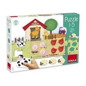 Puzzle Quinta de 1 a 5 - Goula