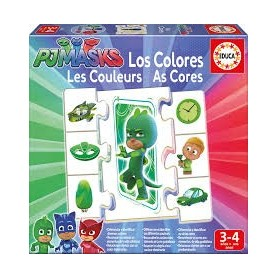 Jogo Aprendo as Cores PJMasks - Educa