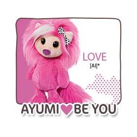 NICI - Peluche AYUMI BE YOU LOVE