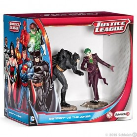 Schleich - Justice League - Batman vs The joker