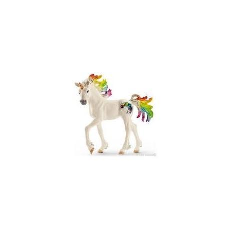 Cria de Unicornio Arco Iris - Schleich