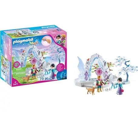 Playmobil Magic: Portão de Cristal para o Mundo de Inverno 4+