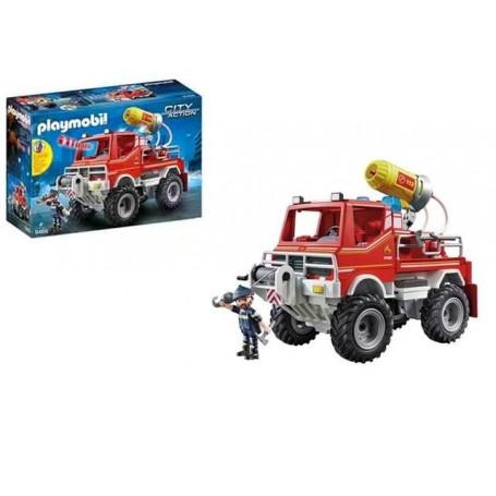 Playmobil City Action: Camião de Bombeiros Todo o Terreno 4+