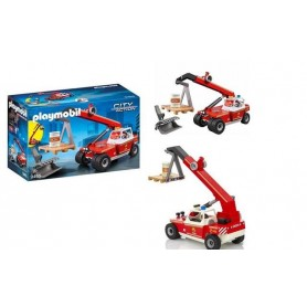 Playmobil City Action: Carro com Grua 4+