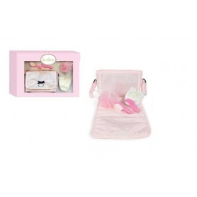 Conjunto Higiene com Bolsa e Acessórios Charlotte - La Nina