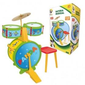 Bateria Musical Panda - Concentra