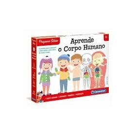 Pequeno Sábio: Jogos do Corpo Humano - Clementoni