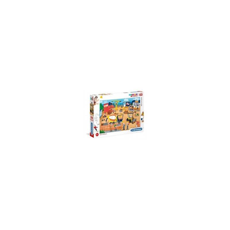 Puzzle 60 peças SuperColor Blaze - Clementoni