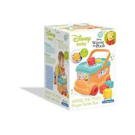 Winnie The Pooh Autocarro Peças de Encaixe - Clementoni