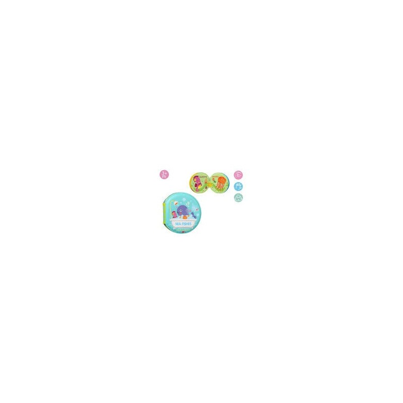 Livro de Banho Animais - Kiokids