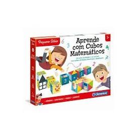 Pequeno Sábio: Aprende com Cubos Matemáticos - Clementoni