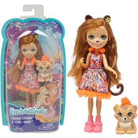 Figura Cherish Cheetah & Quick-Quick -  Enchantimals