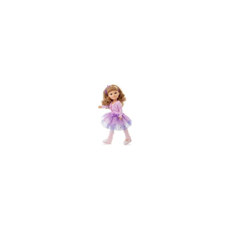 Boneca Sofy Branca Bailarina - Berjuan